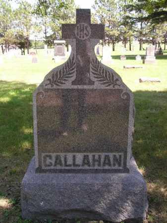 CALLAHAN, FAMILY STONE - Kingsbury County, South Dakota | FAMILY STONE CALLAHAN - South Dakota Gravestone Photos