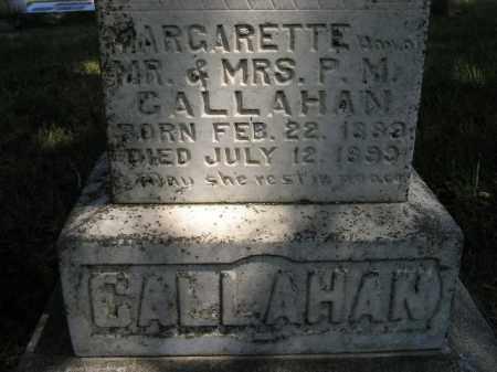 CALLAHAN, MARGARETE - Kingsbury County, South Dakota   MARGARETE CALLAHAN - South Dakota Gravestone Photos