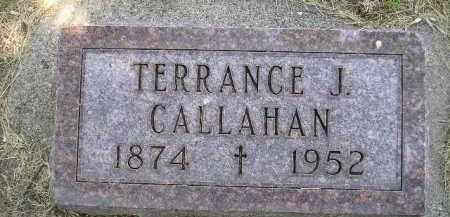 CALLAHAN, TERRANCE J. - Kingsbury County, South Dakota   TERRANCE J. CALLAHAN - South Dakota Gravestone Photos