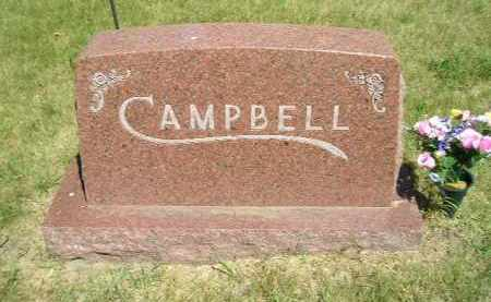 CAMPBELL, FAMILY STONE - Kingsbury County, South Dakota | FAMILY STONE CAMPBELL - South Dakota Gravestone Photos
