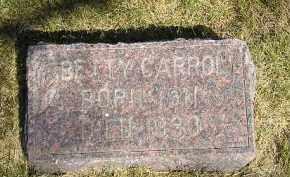 CARROLL, BETTY - Kingsbury County, South Dakota   BETTY CARROLL - South Dakota Gravestone Photos