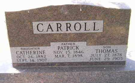 CARROLL, THOMAS - Kingsbury County, South Dakota | THOMAS CARROLL - South Dakota Gravestone Photos