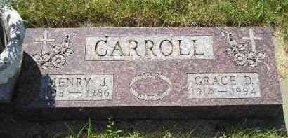 CARROLL, GRACE D. - Kingsbury County, South Dakota | GRACE D. CARROLL - South Dakota Gravestone Photos