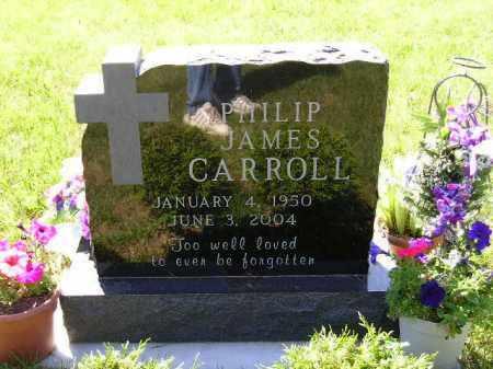 CARROLL, PHILIP JAMES - Kingsbury County, South Dakota | PHILIP JAMES CARROLL - South Dakota Gravestone Photos