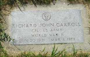 CARROLL, RICHARD JOHN - Kingsbury County, South Dakota | RICHARD JOHN CARROLL - South Dakota Gravestone Photos
