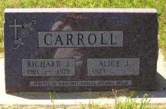 CARROLL, RICHARD J. - Kingsbury County, South Dakota | RICHARD J. CARROLL - South Dakota Gravestone Photos