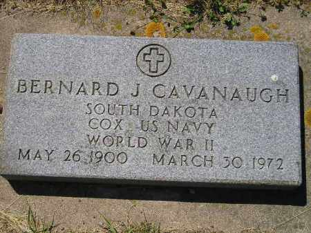 CAVANAUGH, BERNARD J. - Kingsbury County, South Dakota | BERNARD J. CAVANAUGH - South Dakota Gravestone Photos