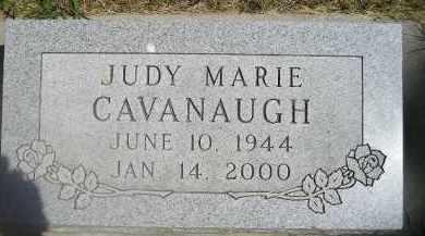 CAVANAUGH, JUDY MARIE - Kingsbury County, South Dakota   JUDY MARIE CAVANAUGH - South Dakota Gravestone Photos