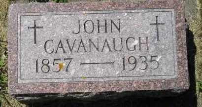 CAVANAUGH, JOHN - Kingsbury County, South Dakota | JOHN CAVANAUGH - South Dakota Gravestone Photos