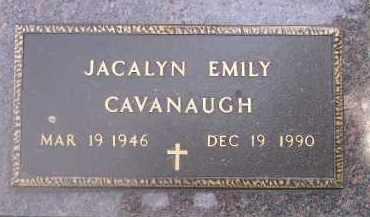CAVANAUGH, JACALYN EMILY - Kingsbury County, South Dakota | JACALYN EMILY CAVANAUGH - South Dakota Gravestone Photos