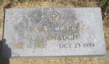 CAVANAUGH, MARY CLARA - Kingsbury County, South Dakota   MARY CLARA CAVANAUGH - South Dakota Gravestone Photos