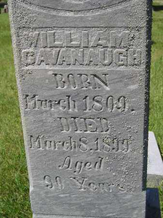 CAVANAUGH, WILLIAM SR. - Kingsbury County, South Dakota | WILLIAM SR. CAVANAUGH - South Dakota Gravestone Photos