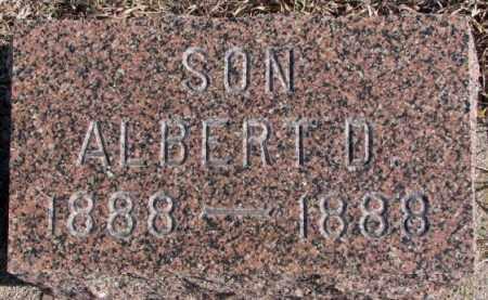 CHRISTENSEN, ALBERT D. - Kingsbury County, South Dakota | ALBERT D. CHRISTENSEN - South Dakota Gravestone Photos