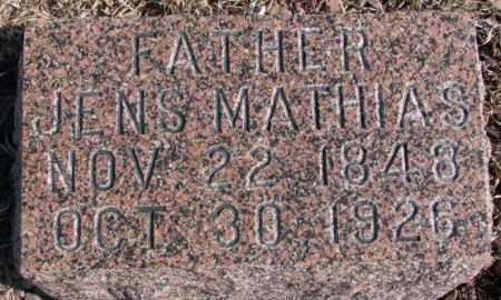CHRISTENSEN, JENS MATHIAS - Kingsbury County, South Dakota | JENS MATHIAS CHRISTENSEN - South Dakota Gravestone Photos