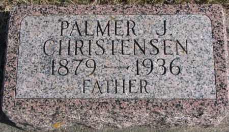 CHRISTENSEN, PALMER J. - Kingsbury County, South Dakota   PALMER J. CHRISTENSEN - South Dakota Gravestone Photos