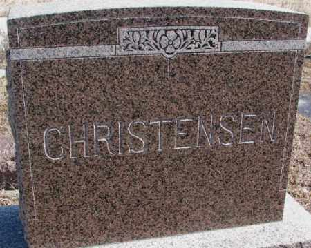 CHRISTENSEN, PLOT - Kingsbury County, South Dakota | PLOT CHRISTENSEN - South Dakota Gravestone Photos
