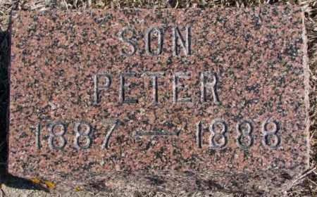 CHRISTENSEN, PETER - Kingsbury County, South Dakota | PETER CHRISTENSEN - South Dakota Gravestone Photos