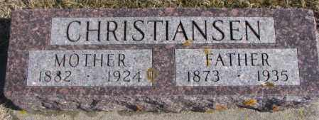 CHRISTIANSEN, FATHER - Kingsbury County, South Dakota | FATHER CHRISTIANSEN - South Dakota Gravestone Photos