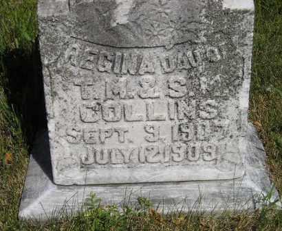 COLLINS, REGINA - Kingsbury County, South Dakota | REGINA COLLINS - South Dakota Gravestone Photos