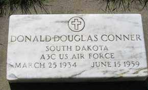 CONNER, DONALD DOUGLAS - Kingsbury County, South Dakota | DONALD DOUGLAS CONNER - South Dakota Gravestone Photos