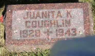COUGHLIN, JUANITA K. - Kingsbury County, South Dakota | JUANITA K. COUGHLIN - South Dakota Gravestone Photos