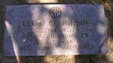 COUGHLIN, LEO J. - Kingsbury County, South Dakota | LEO J. COUGHLIN - South Dakota Gravestone Photos