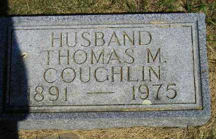COUGHLIN, THOMAS M. - Kingsbury County, South Dakota | THOMAS M. COUGHLIN - South Dakota Gravestone Photos