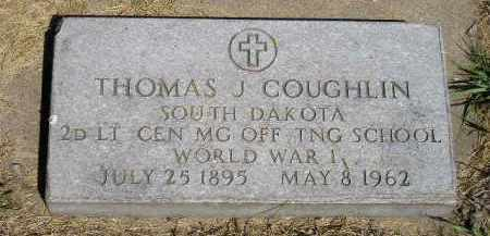 COUGHLIN, THOMAS J. - Kingsbury County, South Dakota | THOMAS J. COUGHLIN - South Dakota Gravestone Photos