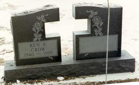 CROW, KENNETH EDWARD - Kingsbury County, South Dakota | KENNETH EDWARD CROW - South Dakota Gravestone Photos