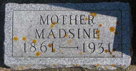 DAMM, MADSINE - Kingsbury County, South Dakota | MADSINE DAMM - South Dakota Gravestone Photos