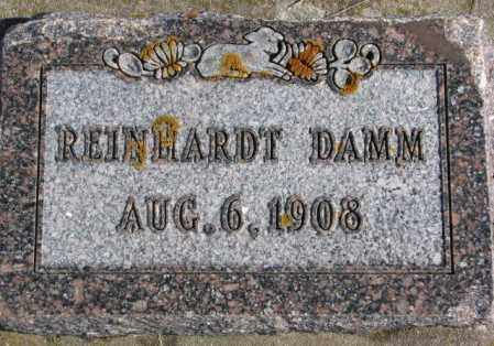 DAMM, REINHARDT - Kingsbury County, South Dakota | REINHARDT DAMM - South Dakota Gravestone Photos