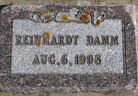 DAMM, REINHARDT - Kingsbury County, South Dakota | REINHARDT DAMM - South Dakota Gravestone Photos