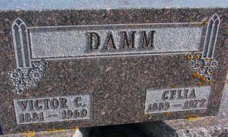 DAMM, VICTOR C. - Kingsbury County, South Dakota | VICTOR C. DAMM - South Dakota Gravestone Photos