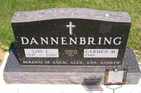 DANNENBRING, LON L. - Kingsbury County, South Dakota | LON L. DANNENBRING - South Dakota Gravestone Photos