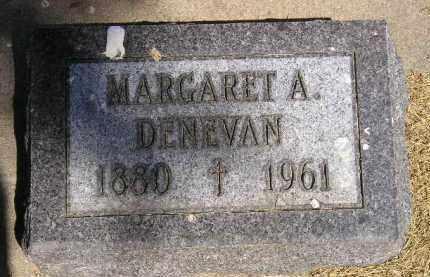 DENEVAN, MARGARET A. - Kingsbury County, South Dakota | MARGARET A. DENEVAN - South Dakota Gravestone Photos
