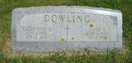 DOWLING, CATHERINE A. - Kingsbury County, South Dakota | CATHERINE A. DOWLING - South Dakota Gravestone Photos