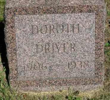 DRIVER, DOROTHY - Kingsbury County, South Dakota | DOROTHY DRIVER - South Dakota Gravestone Photos
