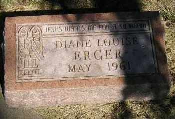 ERGER, DIANE LOUISE - Kingsbury County, South Dakota | DIANE LOUISE ERGER - South Dakota Gravestone Photos