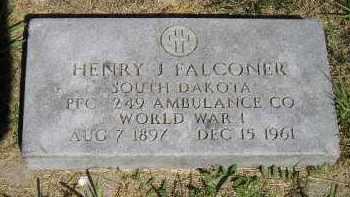 FALCONER, HENRY J. - Kingsbury County, South Dakota   HENRY J. FALCONER - South Dakota Gravestone Photos