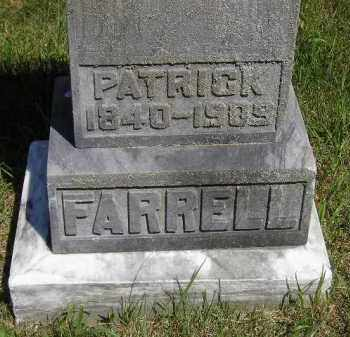 FARRELL, PATRICK - Kingsbury County, South Dakota | PATRICK FARRELL - South Dakota Gravestone Photos