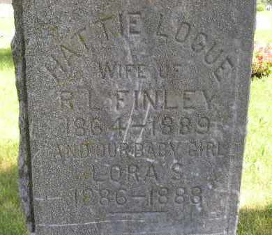 FINLEY, HATTIE - Kingsbury County, South Dakota | HATTIE FINLEY - South Dakota Gravestone Photos