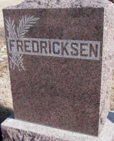 FREDRICKSEN, PLOT - Kingsbury County, South Dakota | PLOT FREDRICKSEN - South Dakota Gravestone Photos