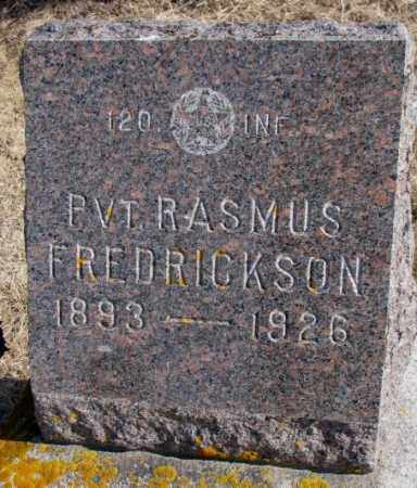 FREDRICKSON, RASMUS - Kingsbury County, South Dakota | RASMUS FREDRICKSON - South Dakota Gravestone Photos