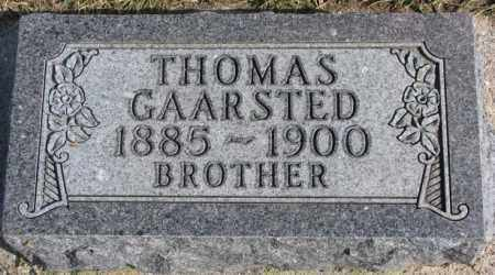 GAARSTED, THOMAS - Kingsbury County, South Dakota | THOMAS GAARSTED - South Dakota Gravestone Photos