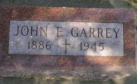 GARREY, JOHN E. - Kingsbury County, South Dakota | JOHN E. GARREY - South Dakota Gravestone Photos