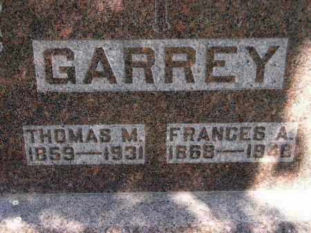 GARREY, THOMAS M. - Kingsbury County, South Dakota | THOMAS M. GARREY - South Dakota Gravestone Photos