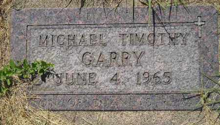 GARRY, MICHAEL TIMOTHY - Kingsbury County, South Dakota | MICHAEL TIMOTHY GARRY - South Dakota Gravestone Photos