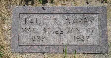 GARRY, PAUL E. - Kingsbury County, South Dakota | PAUL E. GARRY - South Dakota Gravestone Photos