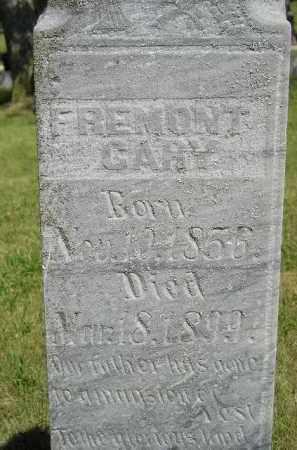 GARY, FREMONT - Kingsbury County, South Dakota   FREMONT GARY - South Dakota Gravestone Photos