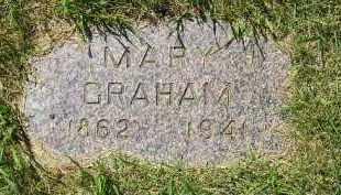 GRAHAM, MARY - Kingsbury County, South Dakota | MARY GRAHAM - South Dakota Gravestone Photos